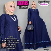 Dress Gamis Keris Bruklat High Quality Baju Gamis Kebaya Dress Wanita