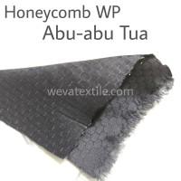 Bahan Kain Parasut Honeycomb Kain Jaket Waterproof Abu Tua