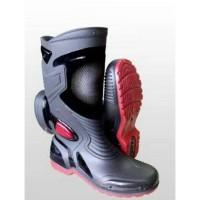 Sepatu Karet PVC Anti Tembus Air Banjir Hujan AP BOOTS MOTO 3