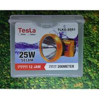 Senter Kepala Super Led 25w 25 Watt Nyelam Tesla TLKS 2551 Cas Recas