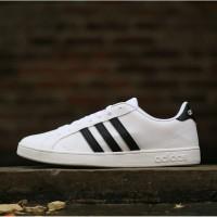 Jual Sepatu Adidas Original Neo Baseline White Black
