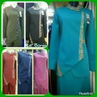 Baju pemda dinas pdh guru batik pegawai kantor wanita