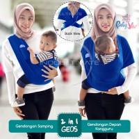 BABY STAR Gendongan bayi kangguru/gendongan bayi kaos geos 2in1 by76