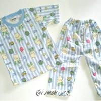 Baju Tidur Kaos Size S Piyama Bayi Anak Pakaian Setelan Lengan Pendek