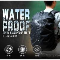 Rain cover bag pelindung tas ransel dari hujan water proof import
