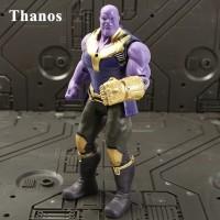Marvel Avenger Infinity Wars Thanos wo Helmet Recast Loose