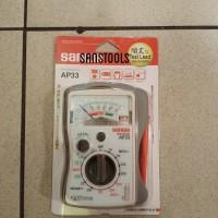 Sanwa AP33 pocket analog multimeter multitester avometer manual AP-33