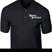 polo shirt Baju kaos kerah pria ROYAL ENFIELD