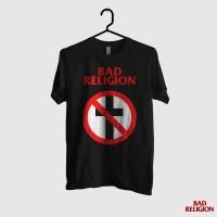 Kaos Bad Religion - Cross Logo