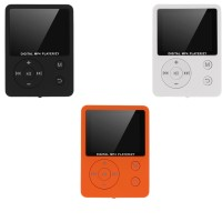 TRENDY!! Mini MP3 Player 3.5mm Earphone Port MP4 Player FM Radio