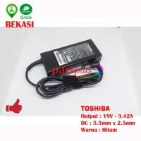 ORIGINAL Adaptor Charger Laptop 19V 3.42A Toshiba L635 L645 L735 L745