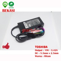 Adaptor Charger Laptop Toshiba C600 C600D C640 19V 3.42A ORI ORIGINAL