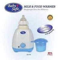 Baby Safe LB215 Milk & Food Warmer Alat Penghangat Susu ASI Anak Bayi
