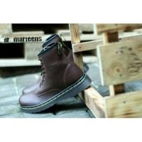 Sepatu Pria Dr.Martens Boots Docmart Dokmar Coklat