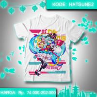 Kaos Vocaloid - Hatsune Miku Magical Mirai 2018 Ver. Baju Anime shirt