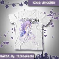 Kaos Anime Azur Lane - Unicorn 1 Game AzurLane Baju 1