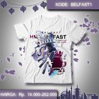 Kaos Anime Azur Lane - Baju Belfast Game Bel fast AzurLane 1