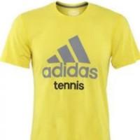 T-shirt Kaos Baju Adidas Tennis Best