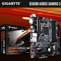 Gigabyte B360M AORUS Gaming 3 LGA1151 B360 DDR4 CoffeeLake TERBAI