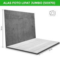 Alas Foto Lipat Jumbo 50x70 cm /Background Foto Lipat Jumbo (MILJ-02)
