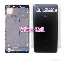 BACK DOOR BACKDOOR PLUS FRAME LCD CASING FULLSET XIAOMI MI MAX 2 ORI