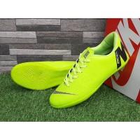 Sepatu Futsal Nike Mercurial Vapor Superfly Hijau Hitam Sport Import