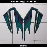 Stiker motor Rx King 1995 hijau