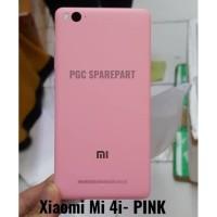 Backdoor Xiaomi Mi 4i Mi4i PINK -Back Cover Case Tutup Casing Belakang