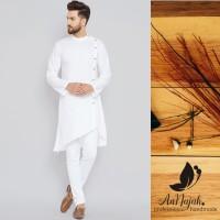 Kurta Pria Koko Pakistan Pria busana muslim pria