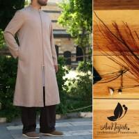 Busana Muslim Pria Kurta Zipper Long Multifungsi Limited Edition