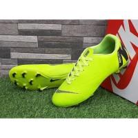 Sepatu Sepak Bola Nike Mercurial Vapor Superfly Hijau Hitam Import