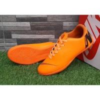 Sepatu Sport Futsal Nike Mercurial Vapor Superfly Oren Hitam Import