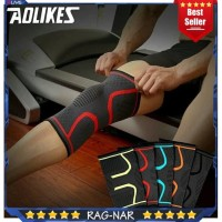 1Pcs Fitness Running Cycling Knee Support Braces Deker Lutut Aolikes