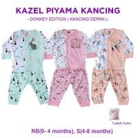 Kazel Piyama Kancing Girl Donkey Edition
