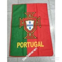 Handuk kecil Portugal muka saputangan fifa sepak bola import