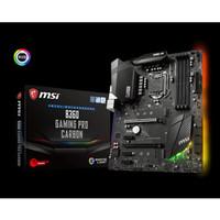 MSI B360 GAMING PRO CARBON --SOCKET 1151 - DDR4 -- TERBAIK