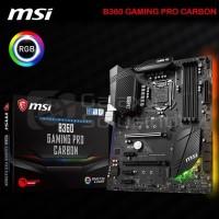 MSI B360 GAMING PRO CARBON LGA1151 B360 DDR4 CoffeeLake TERBAIK