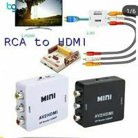 Adaptor konverter AV / RCA To HDMI AV2HDMI