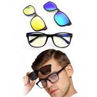 Ask Vision Kacamata 3 in 1 With Magnet Lenses