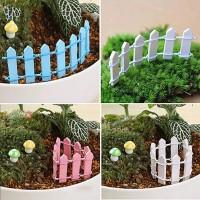 miniatur pagar kayu u/ fairy garden, landscape, terrarium, bahan craft