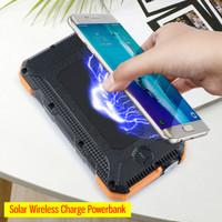 20000 mAh Tough Solar Wireless Powerbank Power Bank PD Fast Charging