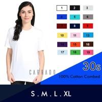 Kaos Wanita Kaos Polos Wanit Cotton Combed 30s Premium Atasan Wanita