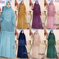 baju wanita gamis pesta rafania muslim broklat modern modis unik