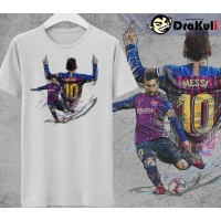 T Shirt DP002 - Lionel Messi Barcelona