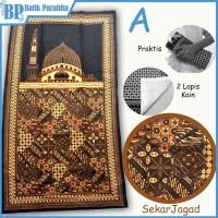 Sajadah Kain Batik SJP-1905 coklat