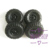 Ban Wheel Soft Tire Like Kit Version MN D90 Mn90 91 RC Truk Crawler