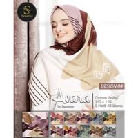 Hijab Segi Empat Motif °Avara°. Motif 4. Cantik Mudah Diatur Murah