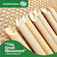 Bamboo Straw - Sedotan Bambu 20cm