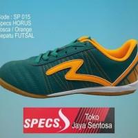 Sepatu Futsal SPECS HORUS IN tosca/orange - Hijau Tosca, 39