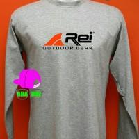 Tshirt baju Distro Kaos lengan panjang Rei Outdoor style terbaru